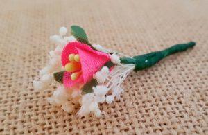 Flor suelta fucsia
