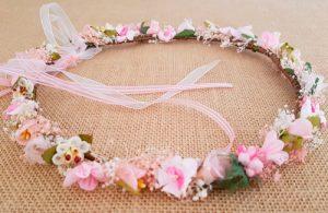 Corona fina rosa