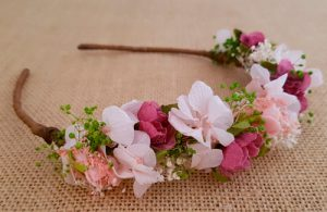 Diadema flores silvestres