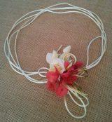 Cordón raso con hortensias 2
