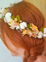 Corona novia ibicenca naranja 2