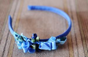 Diadema Niña Azul