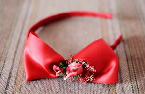 Diadema Niña Roja