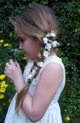 Flores sueltas blancas 3