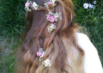 Flores sueltas vintage