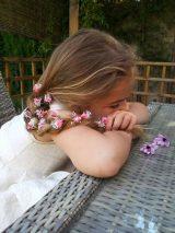 Flores sueltas fucsia 2