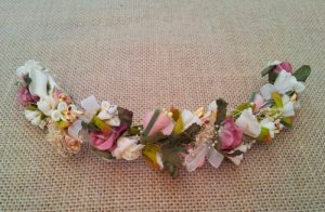 Media Tiara flores silvestres