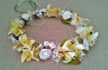 corona novia ibicenca amarilla
