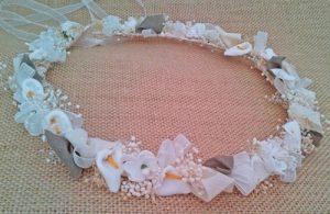 corona arras marfil y arena