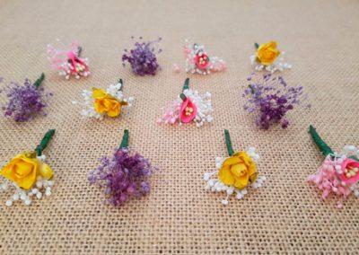 Flores sueltas variadas