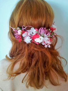 prendido flores hortensia rosa