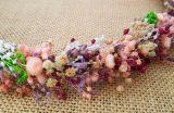 Corona flores secas cereza