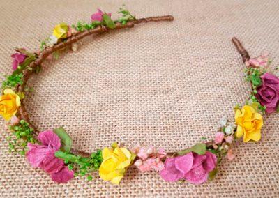 Diadema flores con paniculata
