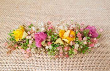 Prendido de flores con paniculata