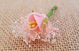 Flor suelta rosa