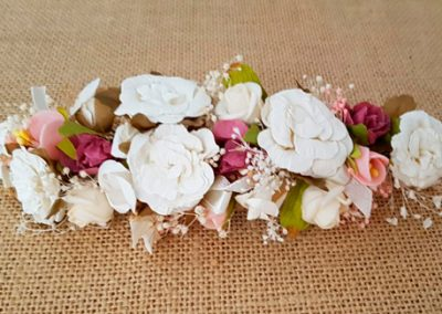 Prendido rosas vintage