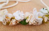 Cinturón cuerda y flores