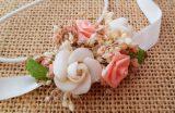 Cinta bebe marfil y coral