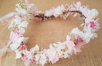 Tiara hortensias paniculata rosa